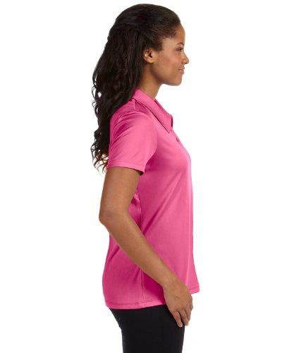Women's Polo W1809 Performance Alo Sport Three Shirt PINK SPORT Button CHRTY TxqCU6OEw