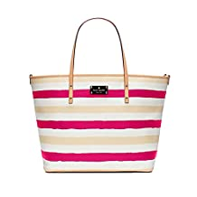Kate Spade New York Bondi Road Harmony Baby Diaper Tote Bag, Pink / Cream by Kate Spade New York