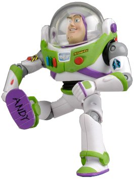 Buzz Lightyear Spaceship Costume (Disney / Pixar Toy Story 2009 SDCC San Diego Comic-con Exclusive Action Figure Buzz Lightyear Adult Collectible)