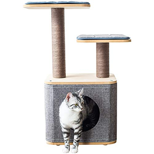 Catry CT19354 is the best Cat Tree? Our review at cattime.com encovers all pros and cons.