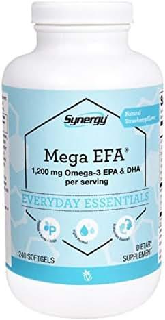 Vitacost Mega EFA Omega-3 EPA & DHA -- 1200 mg per serving - 240 Softgels