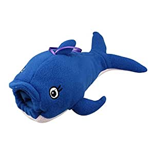 Dreaman Baby Milk Bottle Plush Pouch Soft Covers Keep Warm Holders 500ml Whale