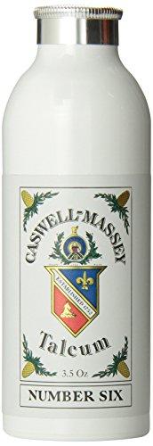 Caswell-Massey Number Six Talcum, 3.5 Ounce