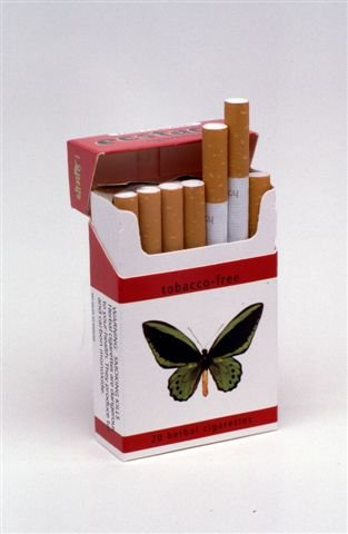 Ecstacy Herbal Cigarettes Reds Full Flavor 10 Packs/Carton by Ecstacy