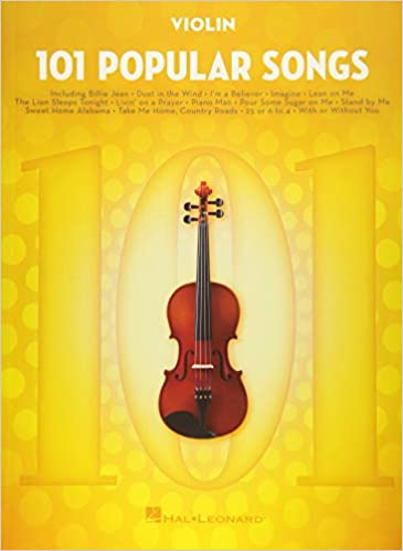 Amazon com: 101 Popular Songs: for Violin (9781495090301