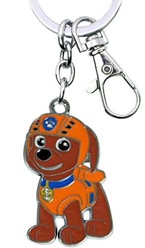 Nickelodeons PAW Patrol Zuma Keychain Key Ring Cartoons TV Comics Movies Superhero Theme Premium Quality Detailed Cosplay Jewelry Gift Series