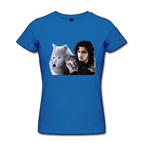 Rong'c Women's Game Of Thrones Jon Snow T-shirt