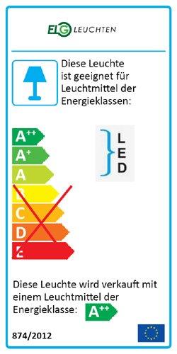 Rasterleuchte LED Rasterleuchte inkl Aufbauleuchte Rasterlampe Einlegeleuchte 4x10 Watt 6400K 4x850lm Deckenlampe opale Abdeckung