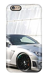 Durable Defender Case For Iphone 6 Tpu Cover(2008 Wald Nissan Gt-r)
