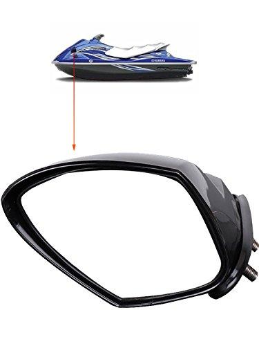 SPAUTO Yamaha WaveRunner VX Mirror Left Hand Side, LH VX110 Deluxe Sport Cruiser Mirror (Black, F1S-U596B-10-00)