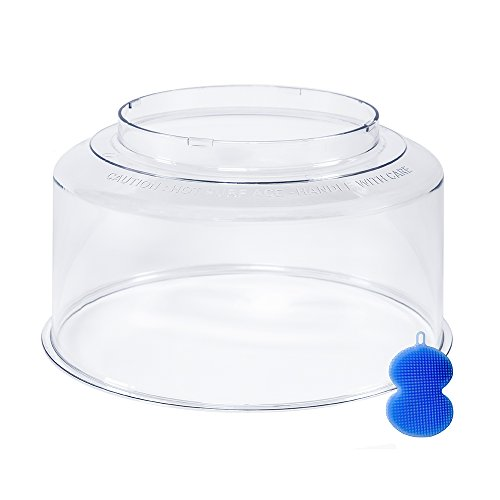 NuWave Oven Dome Replacement for Pro Models - Bundles with Blue Silicone Dish Scrubber (Oven Replacement Parts compare prices)