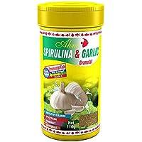 Ahm Spirulina Garlic Sarımsaklı Granül Balık Yemi 250 ml