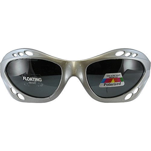 Silver Polarized Sunglasses Floating Water Jet Ski Goggles Sport Designed for the demands regularly encountered while Kite Boarding, Surfer, Kayak, Jetskiing, other water sports. by Silver Skateboards (Image #1)