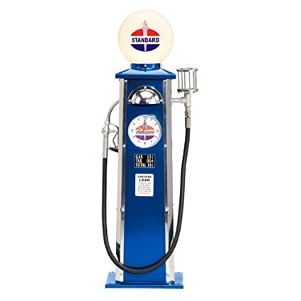 Amazon com: Standard Oil Old-Time Gas Pump - 40in H: Toys & Games