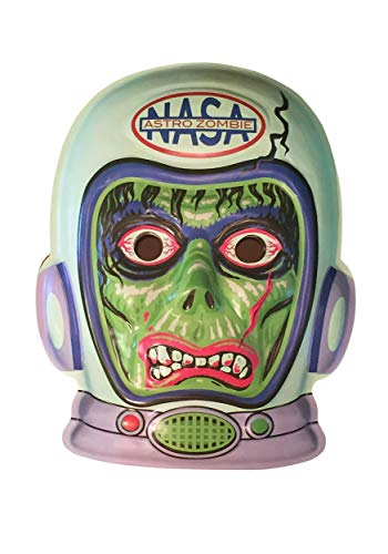 Retro-a-go-go! 4316 Radio Active Astro Zombie VAC-Tactic Plastic Mask Wall Decor]()