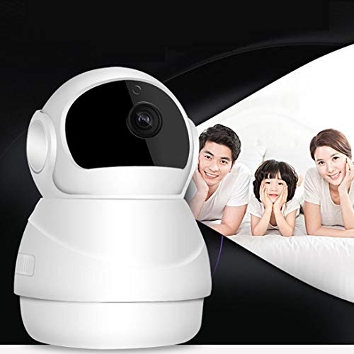 HD 1080P Pan/Tilt Wireless WiFi IP Camera, Home Security Video Surveillance Camera, Nanny Cam with Two Way Audio, Night Vision Remote Control for Baby/Elder/Pet/Office Monitor ()