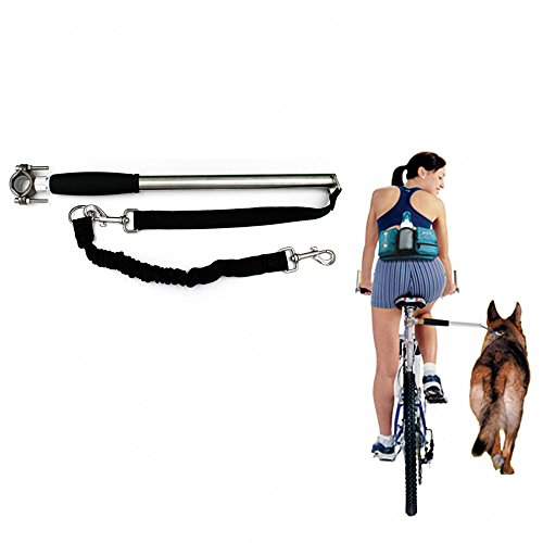 Distance Keeper (LOOPYCAT Hands Free Dog Bicycle Exerciser Leash Attachment Distance Keeper Dog Training Trotter Jogger,Dog Control)