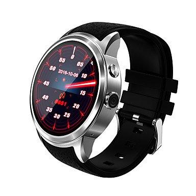 TR impermeable WIF Internet GPS de posicionamiento llamada 3G 5.1 quad core 8g relojes inteligentes wompatible con ios android , silver: Amazon.es: ...