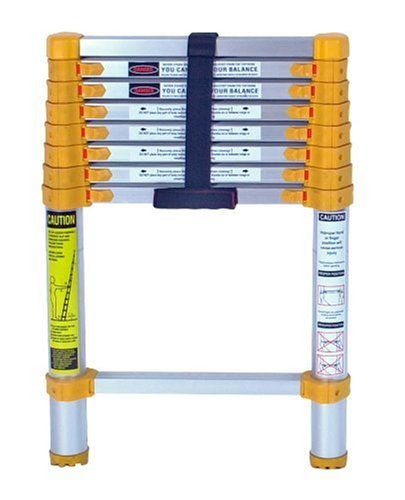 Xtend & Climb 750P Aluminum Telescoping Ladder Type II Home Series, 8.5-Foot