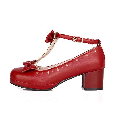 Femme Escarpins Pour 1to9 Escarpins Femme Red Femme 1to9 Pour Pour Red 1to9 Escarpins P00qwz