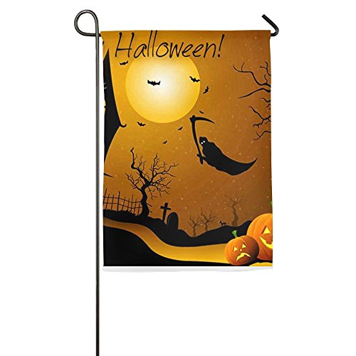 Halloween Castle Online 12 X 18 Prime Garden Flag For Patio Weatherproof Gardon -