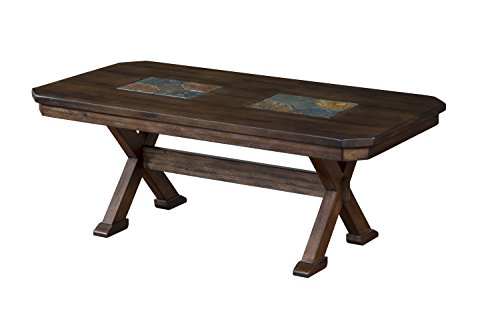 Dining Room Walnut Hutch (Sunny Designs 3237AC-C Savannah Coffee Table)
