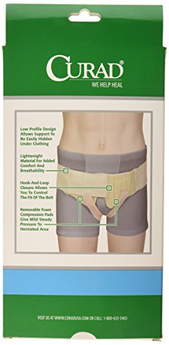 Curad Hernia Belt with Compression Pads, Medium by Curad (Image #1)