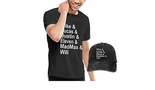 Henrnt Camiseta para Hombre, Mike Lucas Dustin Eleven Tshirt ...