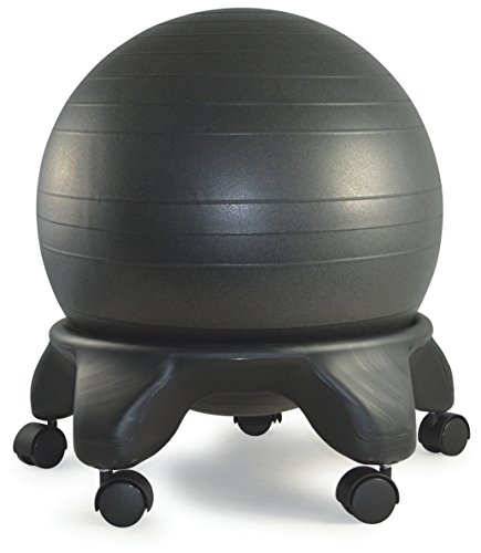 Sierra Comfort SC-0310 Balance Ball Chair, 20'' Ball, Black by SierraComfort
