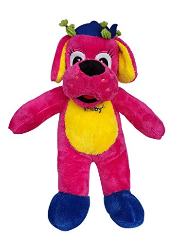 Record Your Own Plush 16 inch Pink & Yellow Dog - Ready 2 Love in a Few Easy Steps