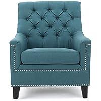 Christopher Knight Home 300041 Jaclyn Arm Chair, Dark Teal