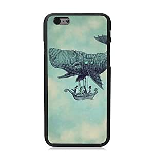 HaleyL-The Mysterious Girl Plastic Hard Back Cover for iPhone 6 Plus