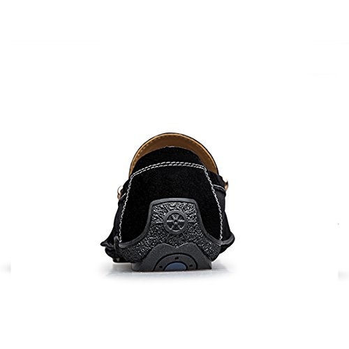Noir LHEU Minitoo Homme Mocassins LH1666 pour Bx4Fq