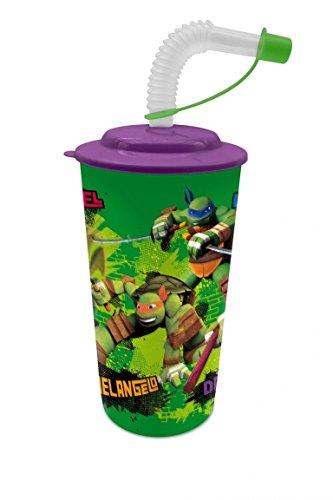 Amazon.com: Teenage Mutant Ninja Turtles Cup + Straw ...