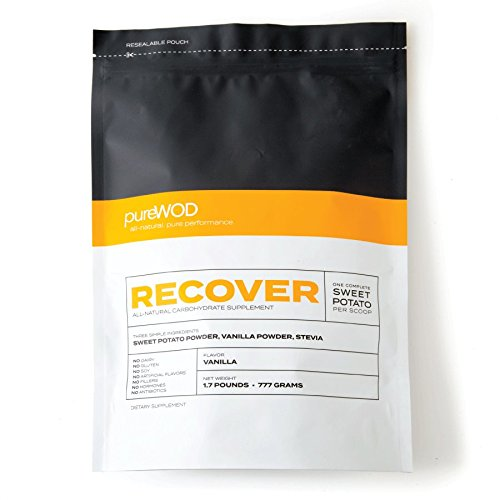 PureWOD RECOVER - Sweet Potato Powder, Naturally Formulated Without The Use Of Artificial Ingredients, Paleo Friendly (1.7lbs)