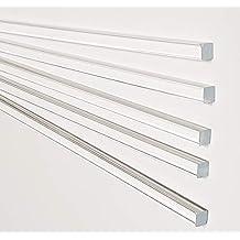 Long Made in USA 1 Ft Polyethylene UHMW Plastic Rod White 2-1//4 Inch Diameter