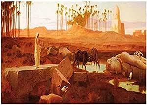 تابلوه المناظر الطبيعية الشرقية من فوتو بلوك 23 × 18 سم - 2724820021868