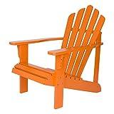 Shine Company Westport Adirondack Chair, Tangerine