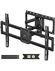 """USX MOUNT Full Motion TV Wall Mount for Most 47-84 inch Flat Screen/LED/4K TVs, TV Mount Bracket Dual Swivel Articulating Tilt 6 Arms, Max VESA 600x400mm, Holds up to 132lbs, Arms Up to 16"""" Wood Stud"""
