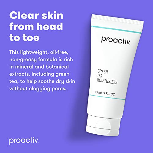 Proactiv Green Tea and Hyularonic Acid Moisturizer For Dry Skin, Hydrating Face Moisturizer For Oily Skin, Dry Skin and Acne Prone Skin - 3 oz.