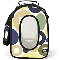 Prevue Pet Products Soft Sided Bird Travel Carrier with Perch Small, Multicolor