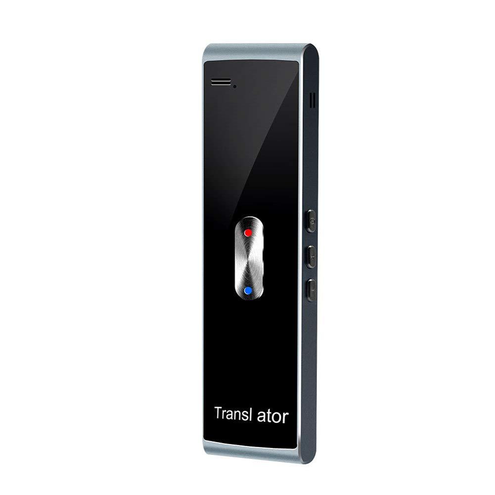Yooha Smart Voice Translator, Portable Bluetooth Language Translator Device Two Way Real-time Multi Language Translator for Business, Learning, Travel, Shopping(Grey)