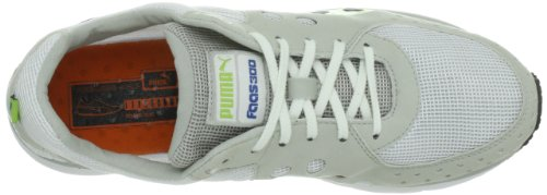 PUMA SCARPE PER RUNNING FAAS 300 UOMO, WHITE/GREY VIOLET/LIME PUNCH, COLORE BIANCO