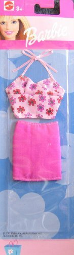 Barbie Fashions - Pink Skirt & Top (2002)