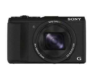 "Sony DSC-HX60V/B 20.4 MP Digital Camera with 30x Optical Image Stabilized Zoom, 3"" LCD (Black)"