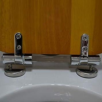 2pcs Plastic Toilet Seat Screws Fixings Fit Toilet Seats Hinges Repair Tools BN