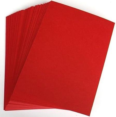 Maison de la carte et papier A4/210/x 297/mm carte de No/ël/ Lot de 100/feuilles /Rouge//Vert