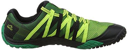 Merrell Mens Guanto 4 Trail Runner Smeraldo