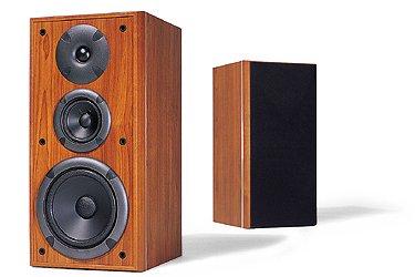 JAMO E 630 3 Way Bass Reflex Bookshelf Speaker Pair CHERRY