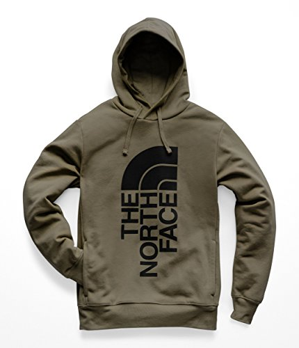 The North Face Men's Trivert Pullover Hoodie New Taupe Green/TNF Black X-Large